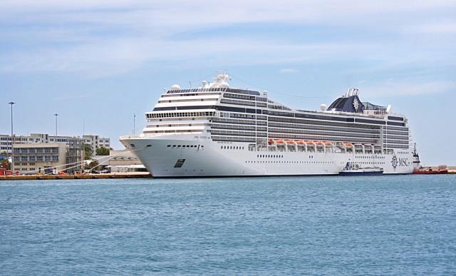 MSC Cruises: O Πειραιάς ως λιμάνι- βάση για το MSC Lirica