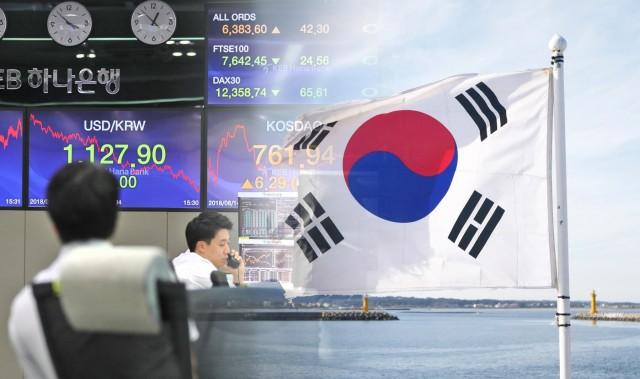 Χαμηλό δεκαετίας για την ανάπτυξη της Νότιας Κορέας
