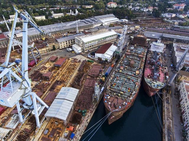 Σε απόγνωση τα κροατικά ναυπηγεία