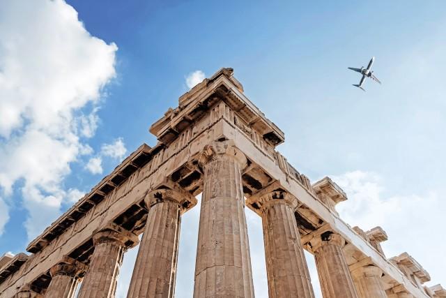 Αύξηση των διεθνών αεροπορικών αφίξεων στην Ελλάδα