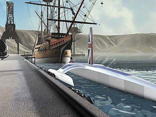 Σχεδόν έτοιμο το πρώτο βρετανικό αυτόνομο πλοίο