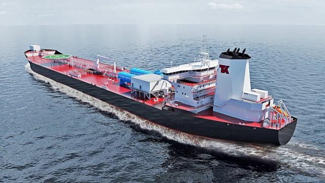 Παράδοση του πρώτου παγκοσμίως shuttle tanker διπλού καυσίμου