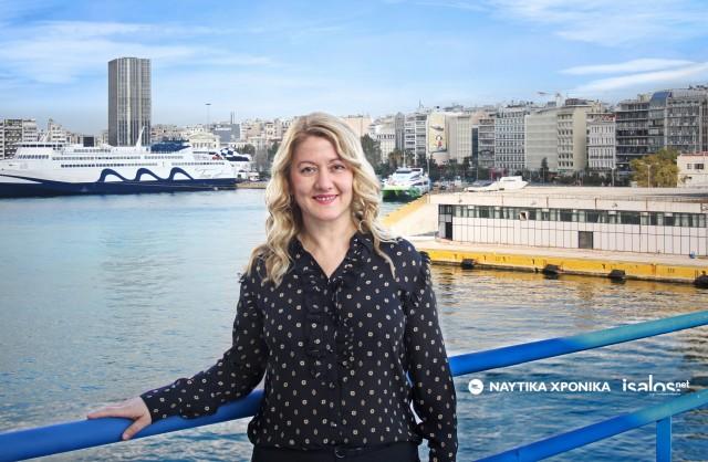 H πρώτη γυναίκα πλοίαρχος στο ΔΣ της ΠΕΠΕΝ