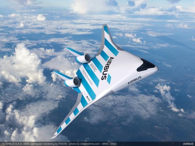 Η Airbus δοκιμάζει το αεροσκάφος του μέλλοντος