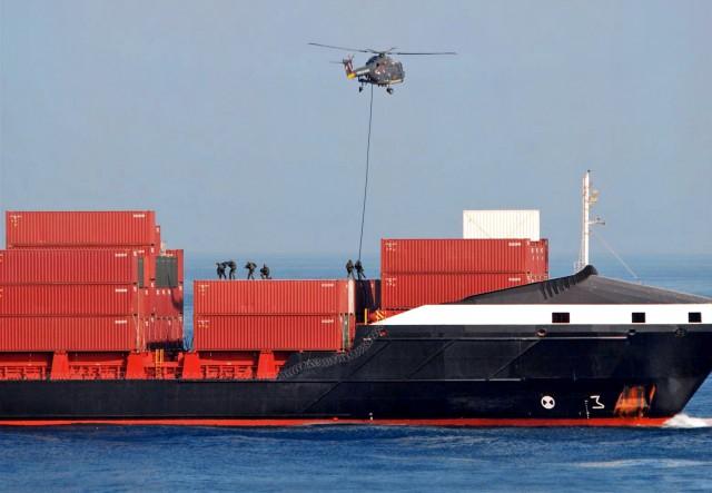 Απόπειρα επίθεσης σε containership