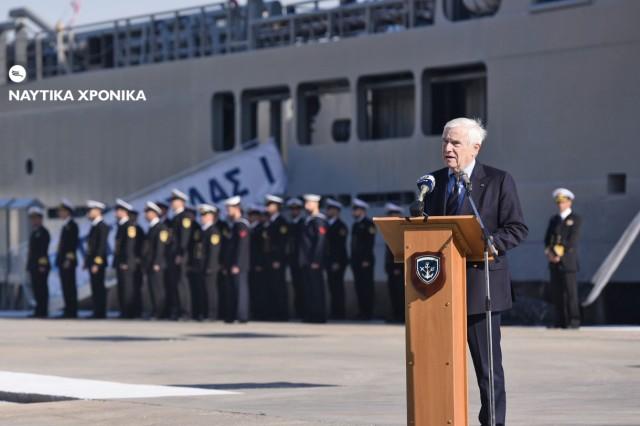 Στηρίζουμε την Πατρίδα: Η νέα μεγάλη δωρεά Λασκαρίδη στο Πολεμικό Ναυτικό
