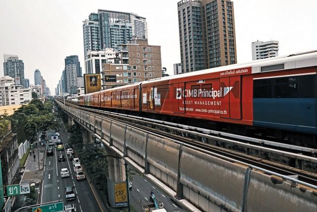 Τα τρένα κατακτούν την Ταϊλάνδη