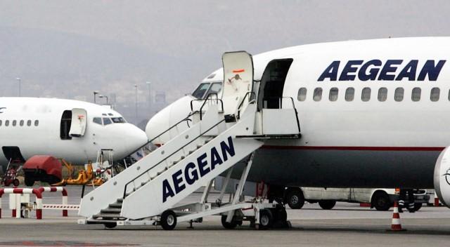 Η Aegean προχωρά σε προσωρινή αναστολή των πτήσεων εξωτερικού