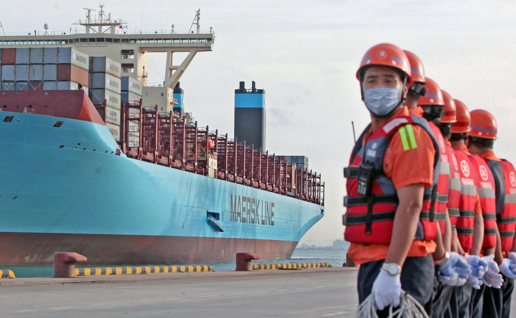 Θετικά στον Covid-19 μέλη πληρώματος containership στην Κίνα