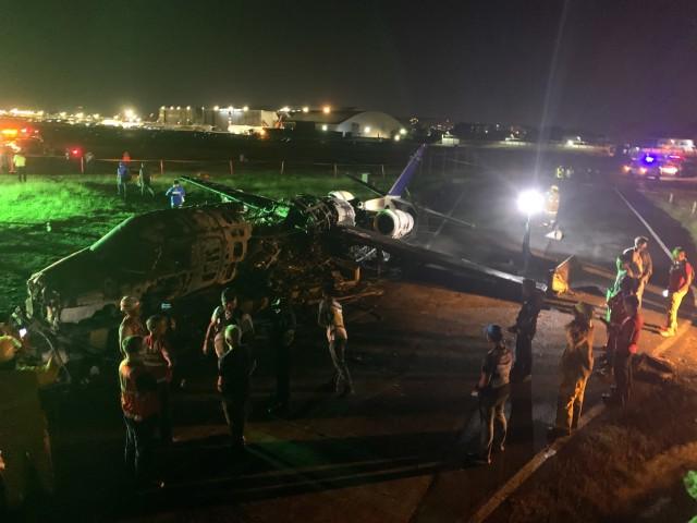 Αεροπορικό δυστύχημα στις Φιλιππίνες