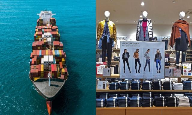 Στροφή στις διά θαλάσσης μεταφορές για τη βιομηχανία μόδας