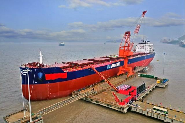 Ένα ακόμα νεότευκτο για την Aegean Shipping Management S.A.