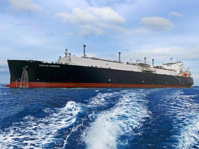 GasLog Windsor: Το νεότευκτο LNG Carrier της GasLog Ltd.