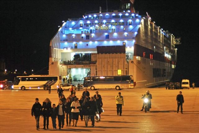 Πρόσκρουση επιβατηγού-οχηματαγωγού πλοίου