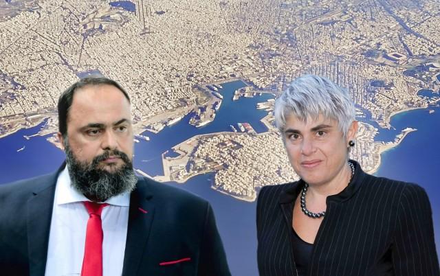 Ε. Μαρινάκης-Α. Φράγκου-ΙΟΝ: Η μεγάλη δωρεά στο ΓΝ Νίκαιας