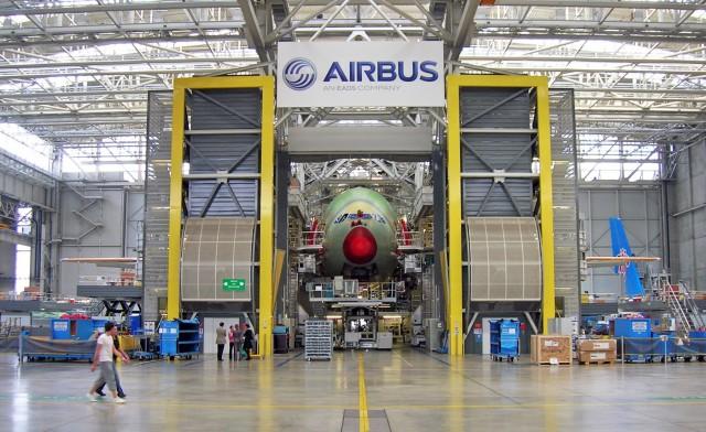 Η Airbus μειώνει την παραγωγή της
