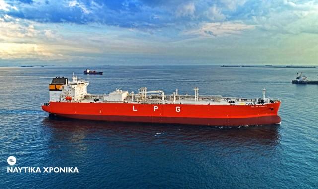 Hellas Dynasty: Παραδόθηκε το νεότευκτο VLGC στην Latsco Shipping