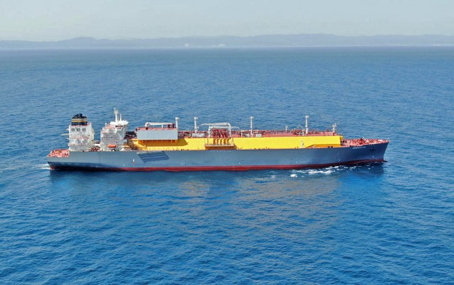 Amberjack LNG: To νεότευκτο LNG Carrier της TMS Cardiff Gas