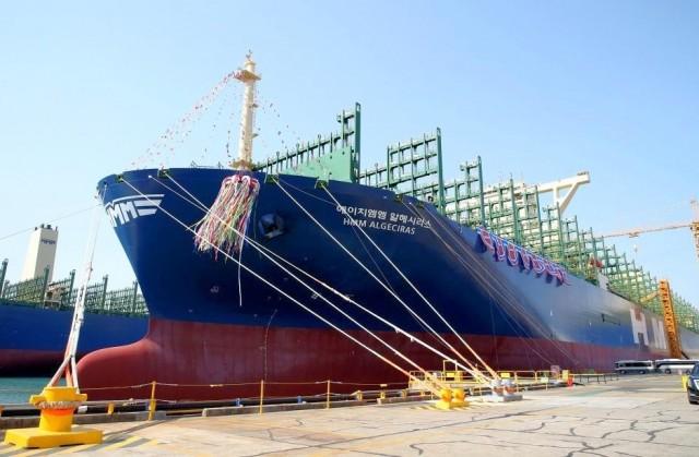 Στο νερό το μεγαλύτερο containership του κόσμου