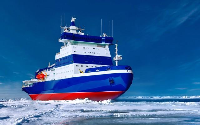 Ενισχύεται ο στόλος των παγοθραυστικών στη Βόρεια Θάλασσα