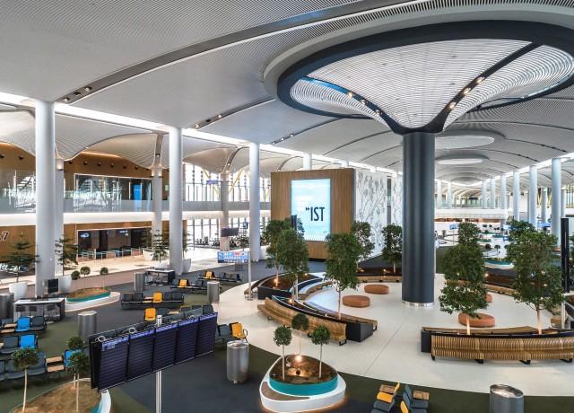 Επεκτείνεται το αεροδρόμιο της Κωνσταντινούπολης
