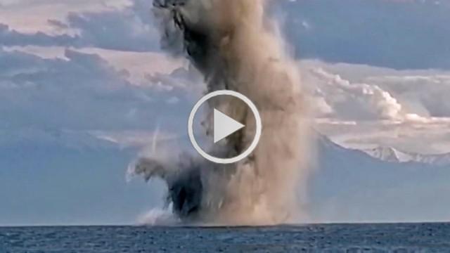 ΛΣ-ΕΛΑΚΤ: Εντυπωσιακό βίντεο από εξουδετέρωση Νάρκης