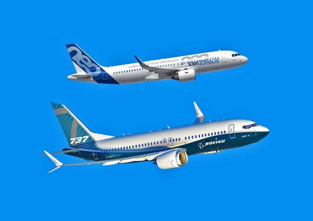 Ζημίες για Airbus και Boeing