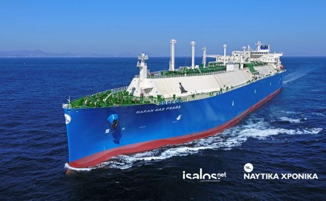 Maran Gas Psara: Το 33ο LNG Carrier στον στόλο της Maran Gas
