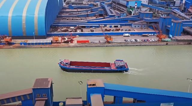 Ηλεκτρικά ποταμόπλοια στην Κίνα