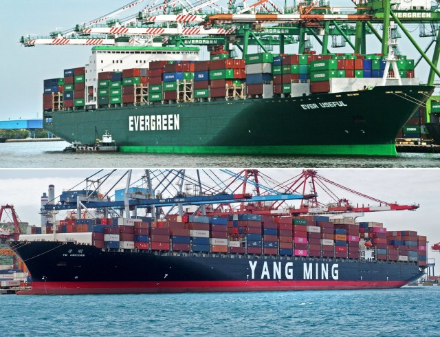Yang Ming και Evergreen εκπέμπουν SOS