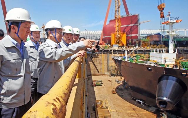 Τα ναυπηγεία της Νότιας Κορέας ξανά στην κορυφή των παραγγελιών νεότευκτων