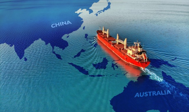 Bulkers: «Φουρτούνες» από την κόντρα Κίνας-Αυστραλίας