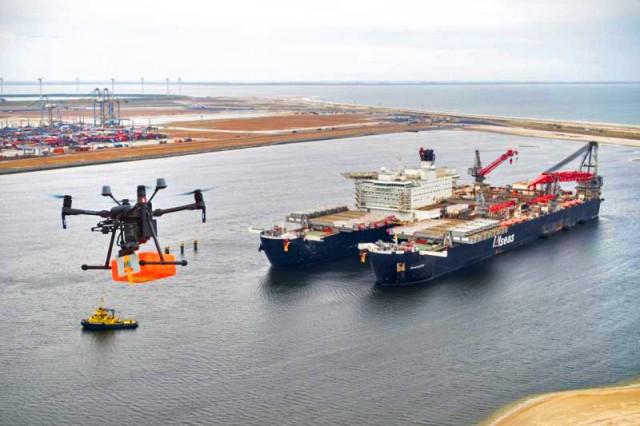 Drones στην υπηρεσία πλοίων: μια εξέλιξη-ορόσημο