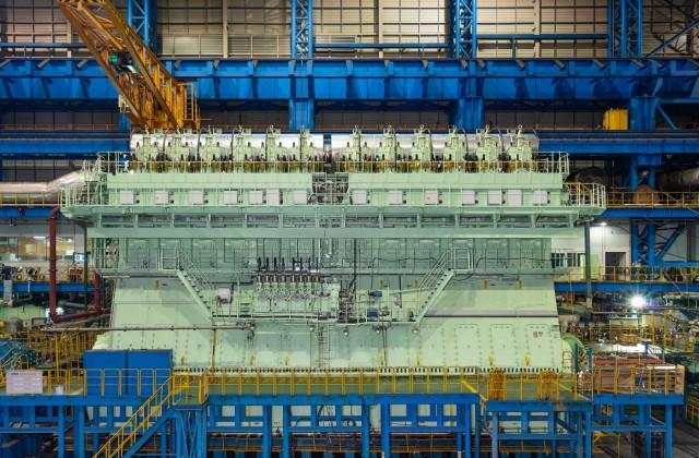Ο μεγαλύτερος κινητήρας διπλού καυσίμου στον κόσμο
