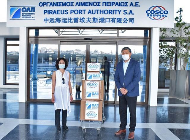 ΟΛΠ Α.Ε. : Νέα δωρεά υγειονομικού υλικού