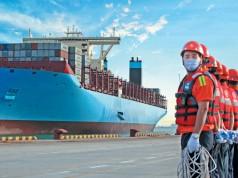 Κίνα εμπόριο λιμάνια
