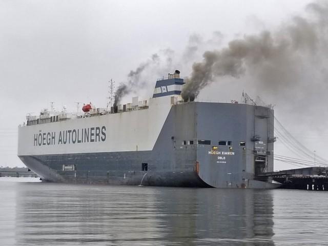 Πυρκαγιά και έκρηξη σε νορβηγικό πλοίο