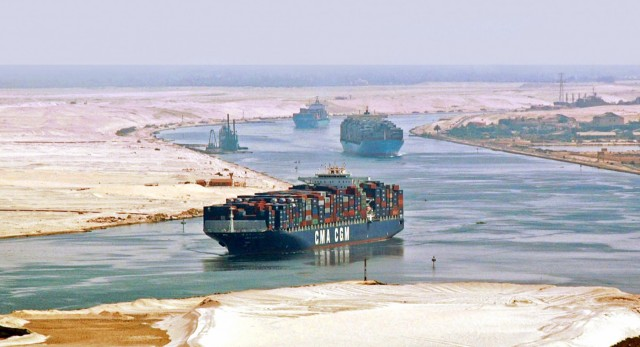 Διώρυγα του Σουέζ: Πόσα πλοία διήλθαν τον Μάιο