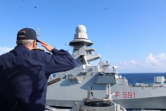 Συνεκπαίδευση Μονάδων Πολεμικού Ναυτικού Ελλάδας και Ιταλίας