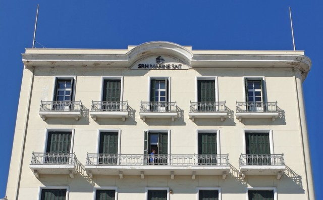 Η SRH MARINE SAIT σε ένα ιστορικό κτίριο στο λιμάνι του Πειραιά