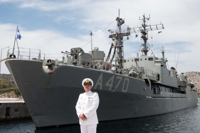 Αλλαγή σκυτάλης στη Διοίκηση Ναυτικής Δύναμης ΝΑΤΟ SNMCMG2