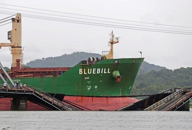 Ελληνόκτητο πλοίο προσέκρουσε στον Παναμά