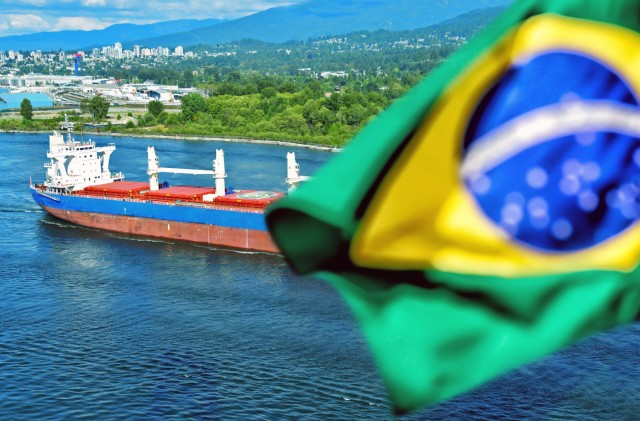 Βραζιλία: Αύξηση της ροής φορτίων για την περίοδο Ιανουαρίου-Μαΐου