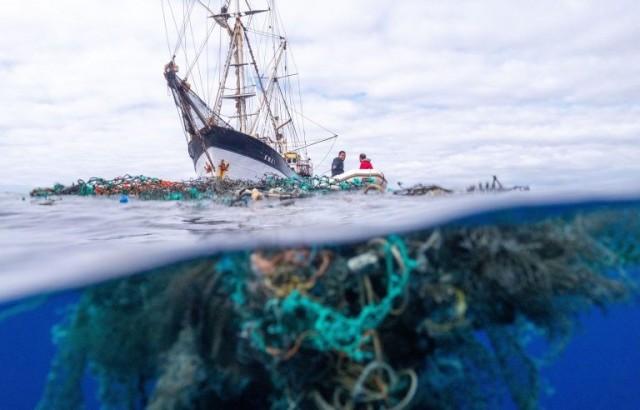 Η μεγαλύτερη συλλογή θαλάσσιων απορριμμάτων στην ιστορία