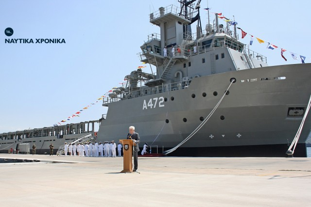Laskaridis family donation: A landmark day for our Navy's modernization