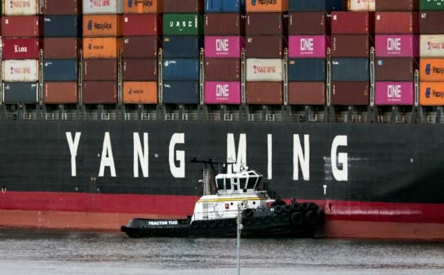 Yang Ming: Παραλαβή του πέμπτου από τα 14 παραγγελθέντα containerships