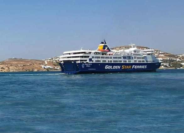 Mηχανική βλάβη επιβατηγού πλοίου