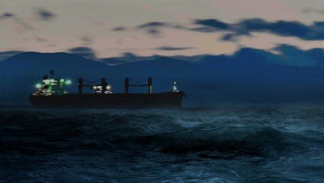 Ακυβερνησία πλοίου στη Λέσβο