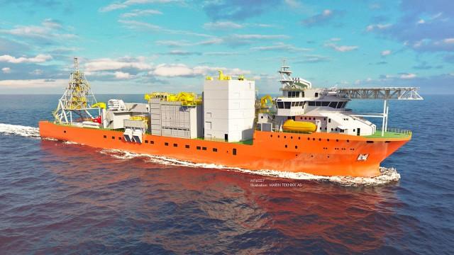 Το μεγαλύτερο πλοίο ανεύρεσης, καταγραφής και συλλογής διαμαντιών