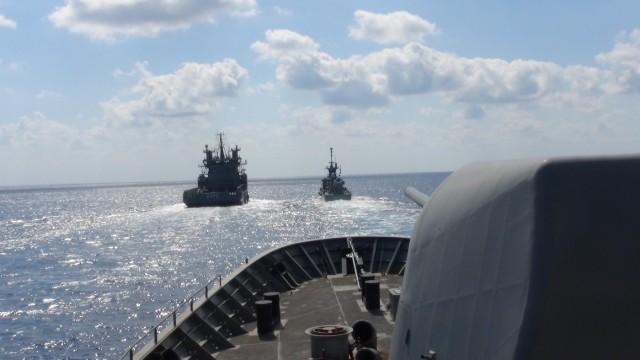 Στιγμιότυπα από  την Επιχειρησιακή Εκπαίδευση του Πολεμικού Ναυτικού